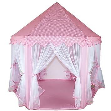 Princess/Prince Castle Play Tent Fairy Princess Castle Tent Extra Large Room 55.5u0027u0027  sc 1 st  Amazon.com & Amazon.com: Princess/Prince Castle Play Tent Fairy Princess Castle ...