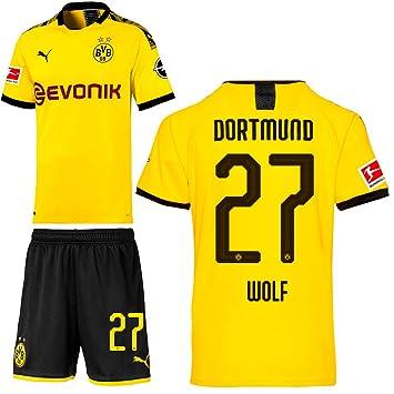 Junior Puma Borussia Dortmund Home Replica 201920 Jersey