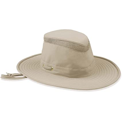 2c33bbc5e8b Amazon.com  Tilley AIRFLO Nylamtium Hat Khaki Olive 712  Tilley ...