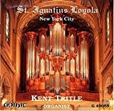 St. Ignatius Loyola, New York City -- Mendelssohn: Sonata in F minor / J.S. Bach:L Fantasia & FUgue in G minor, BWV 542 / de Grigny: Recit de Tierce en taille / Franck: Chorale 3 / Persichetti: Shimah B'Koli / Durufle: Prelude & Fugue on Alain