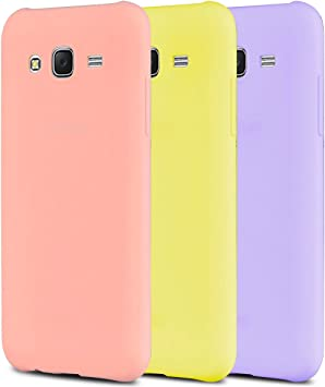 Anfire 3X Funda para Samsung Galaxy J5, Carcasa Silicona Gel TPU Ultra Delgado Suave Mate Goma Protectora Caso Flexible Caja Case Cover Anti Rasguños Tapa Color Jalea: Amazon.es: Electrónica