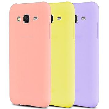 Anfire 3X Samsung J3 Funda, Carcasa Silicona Gel TPU para Samsung Galaxy J3 2016 J310 Ultra Delgado Suave Protectora Caso Flexible Caja Ligero Case ...