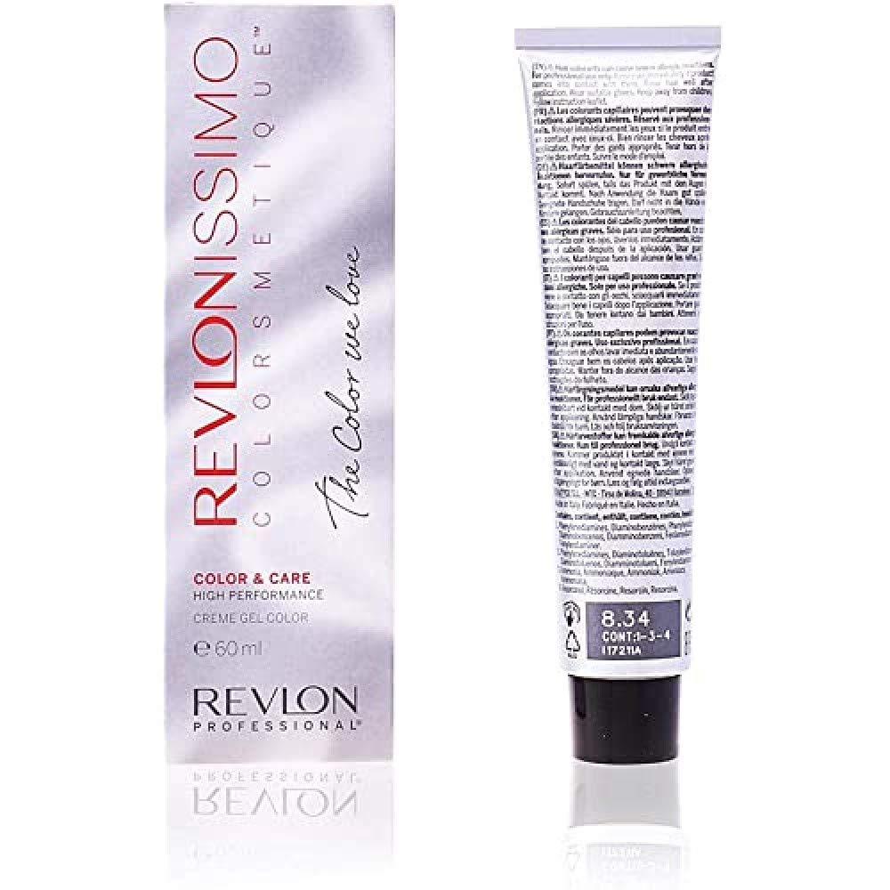 REVLON PROFESSIONAL Revlonissimo High Performance Tinte Tono NMT 8.34-60 ml (8.43223E+12)