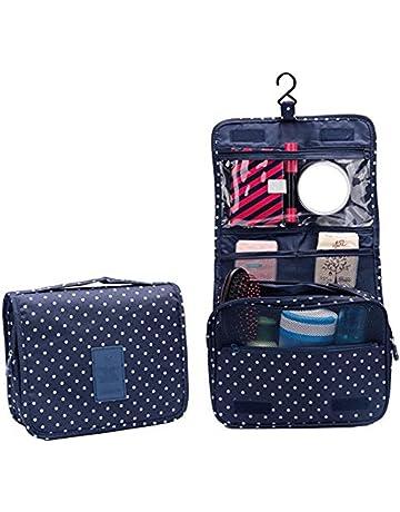 a4f62a218 Gespout Neceser de Maquillaje Cosmético Bolsa Paquete Almacenamiento Caso  de Gran Capacidad Bra Toalla para Mujeres