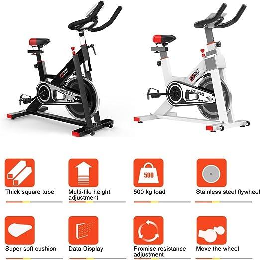 Bicicleta estática indoor cycling bicicleta estacionaria con LCD ...