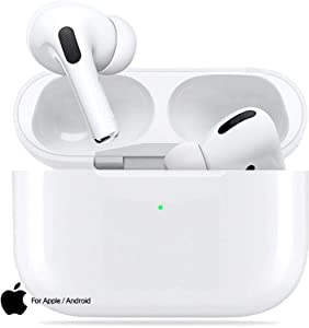 Wireless Earbuds Bluetooth 5.0 with Fast Charging Case IPX5 Waterproof HiFi Stereo Headphones in Ear Built in Mic Headset Premium Sound with Deep Bass,for Samsung iPhone Apple Airpods in Ear Ear Buds