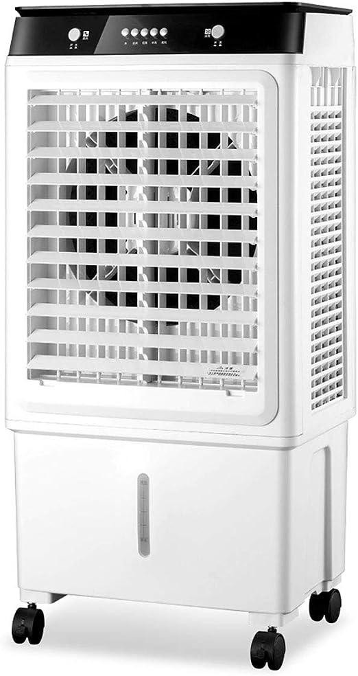YWARX Climatizador nebulizador Ventilador evaporativo Gran caudal ...