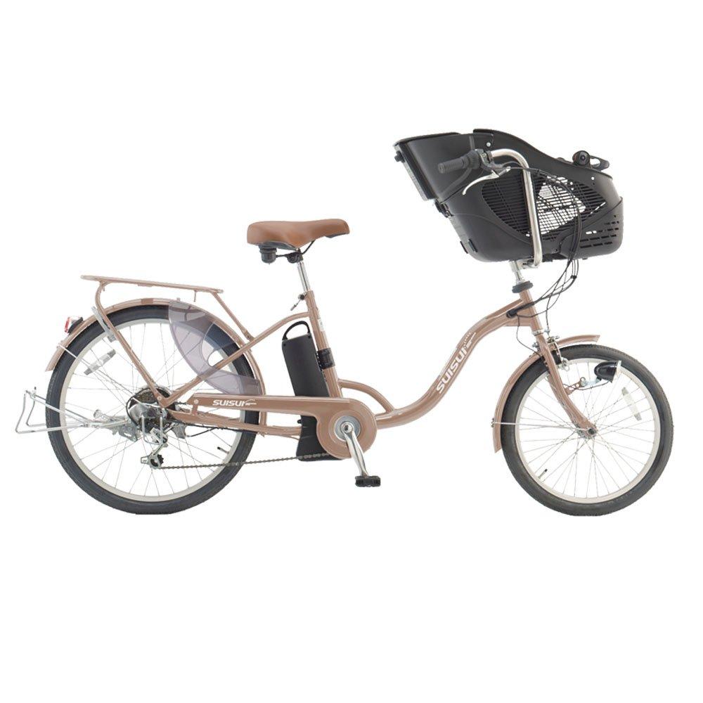 20/24インチ 電動アシスト自転車 チャイルドシートモデル SUISUI グリップ式外装6段変速ギア ワンタッチコントローラー KH-DCY07 B00KICO1MS