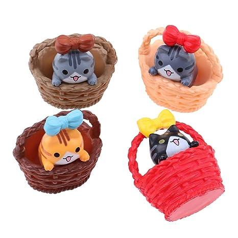 Amazon.es: DALU.A.F - Cesta en miniatura para gatos y ...