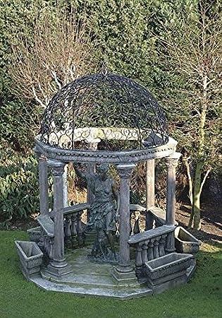 Pergola Hauser, carpa de jardín, Cenador, pergolen, piedra: Amazon ...