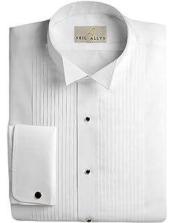 Big /& Tall Classic Tuxedo Accessory Package with Laydown Collar Tuxedo Shirt