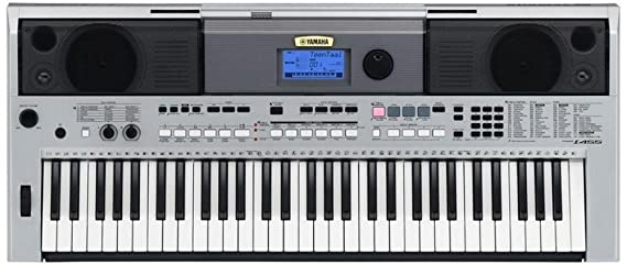 Yamaha PSR I 455 Digital Keyboard with Adaptor Digital Pianos