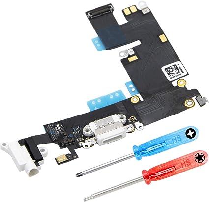 Port de Recharge et Tournevis Inclus MMOBIEL Connecteur Dock de Remplacement Compatible iPad Pro 10.5 Pouces 2017 Noir