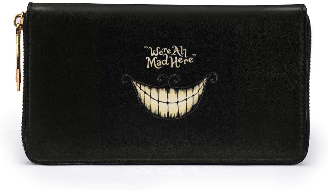 Alice au pays des merveilles Mignon Porte-monnaie en toile Petit sac /à fermeture /éclair Femme Mini sac cosm/étique