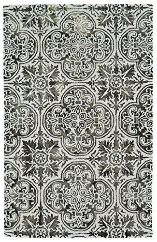 Feizy Rugs Baxter Collection Imported Area Rug, 8' x 11', Black