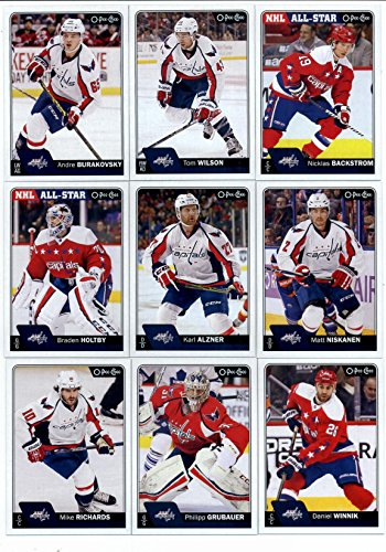2016-17 O-Pee-Chee Hockey Washington Capitals Team Set of...