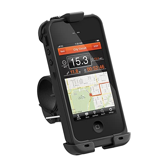 new product 11aaf d07cd LifeProof iPhone 4/4s Bike Mount - Black (Discontinued by Manufacturer)