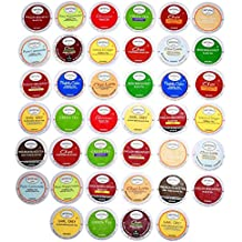 TWININGS K CUPS Tea Sampler Box - 40 COUNT - Variety Sampler Pack for Keurig K-Cup Brewers - Twinings English, Black, Green, Chai, Herbal, Decaffeinated Tea and more - Gift for Tea Lovers