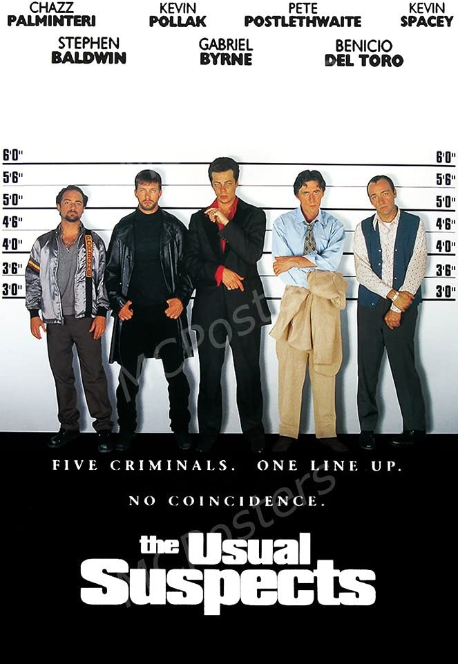 MCPosters The Usual Suspects GLOSSY FINISH Movie Poster - MCP489 (24