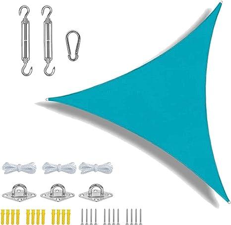 LIFOOST Kit de accesorios para toldo de sol, pérgola, patio, impermeable, al aire libre, patio, patio, fiesta, toldo de 3 x 3 x 3 m, toldo triángulo ...