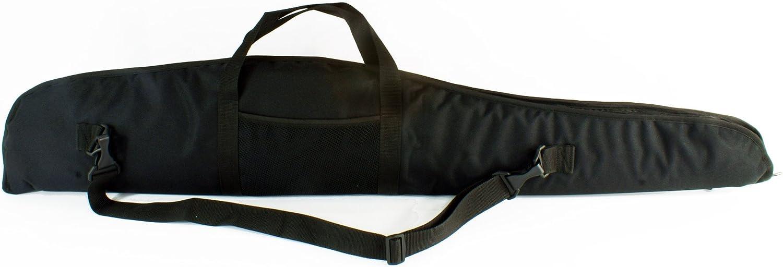 Funda para Armas Rifle Caza Escopeta táctico Espuma 130 cm Negro [017]