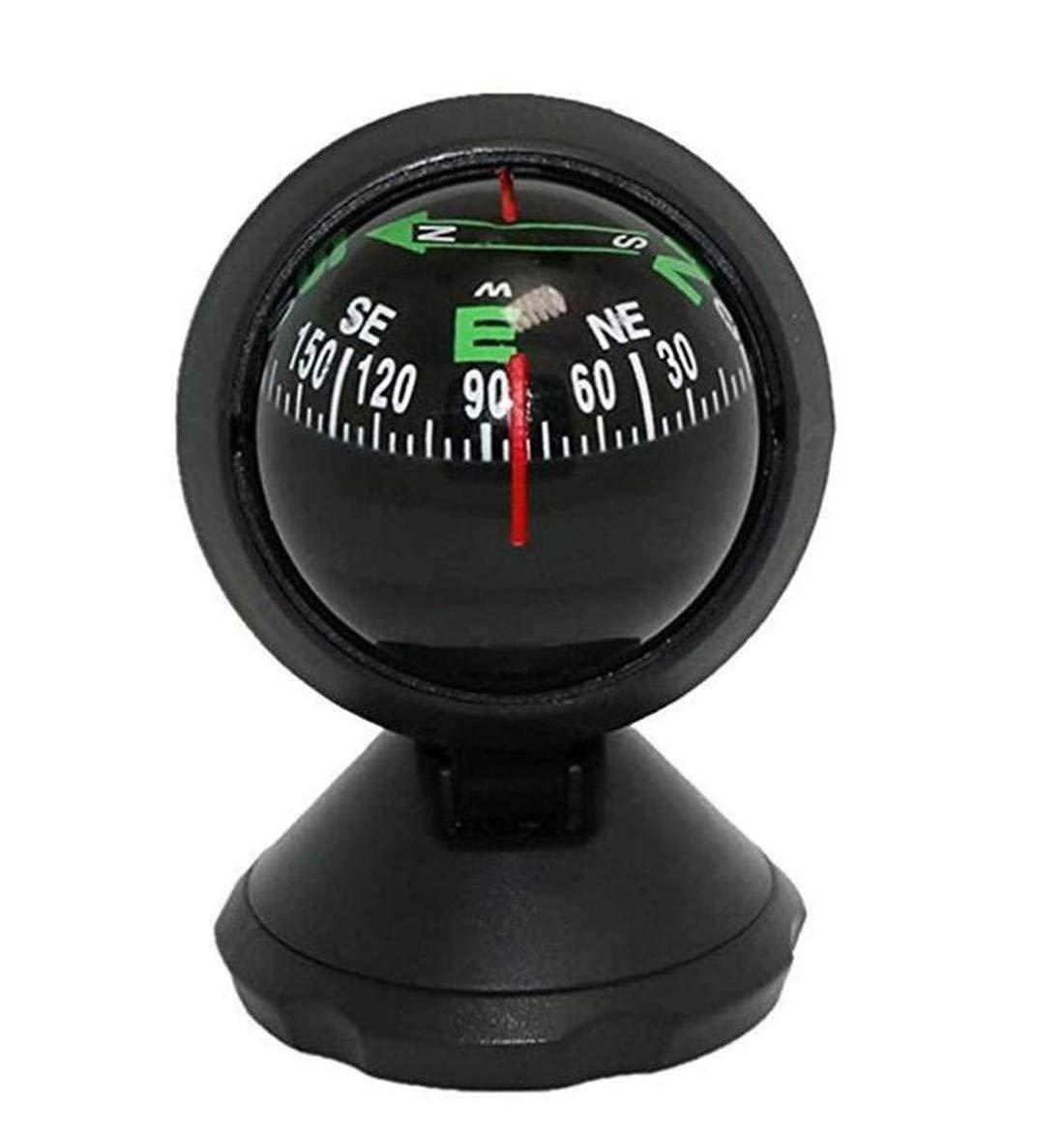 LOSOUL Compass Marine Navigation Ball Boat Car Truck Vehicle Dashboard Adjustable