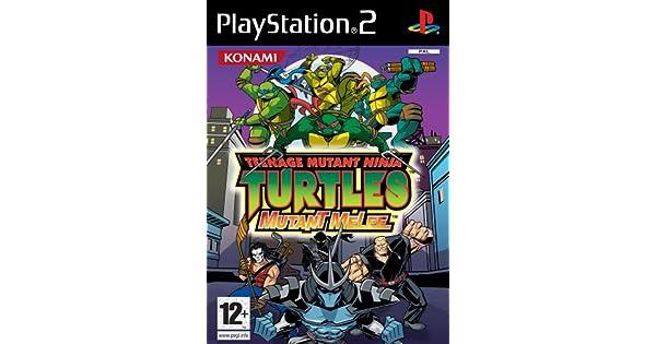 Teenage Mutant Ninja Turtles - Mutant Melee: Amazon.es ...