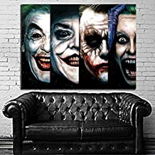 #52 Poster Comic Joker Pop Art Batman 40x53 inch (100x133 cm) Adhesive Vinyl