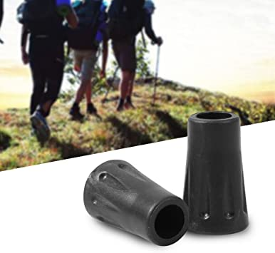 Walking Stick Ferrule Rubber End Hiking Pole Protector Replacement Cane Stopper