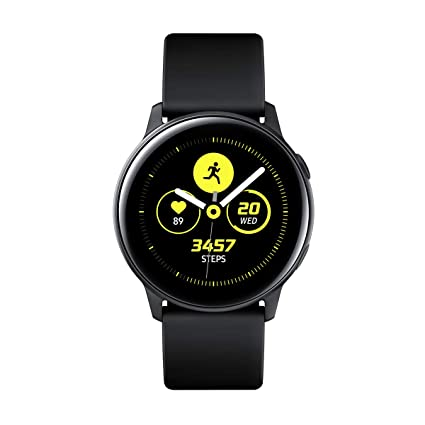 "Samsung Galaxy Watch Active – Smartwatch (1,1"",40mm, Tizen, 768 MB de RAM, Memoria Interna de 4 GB), Color negro – Versión Española"