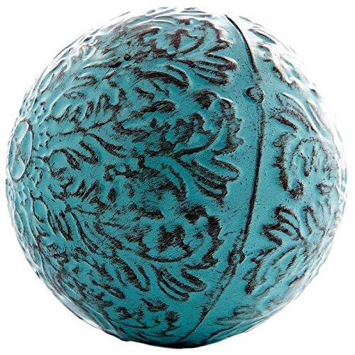 Balls Decorative Glass (Decorative Blue Metal Sphere)