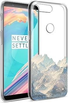 Eouine Funda OnePlus 5T, Cárcasa Ultra Slim Silicona 3D ...