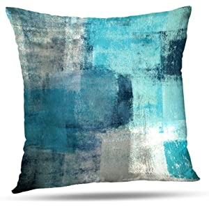 Amazon.com: CaliTime Pack of 2 Soft Canvas Throw Pillow ...