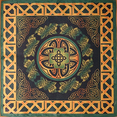 - Series Tablecloths Ancient Celts Seasons. Summer - A Force of Nature 16х16 Cloth Wicca Pagan Witch Shawl