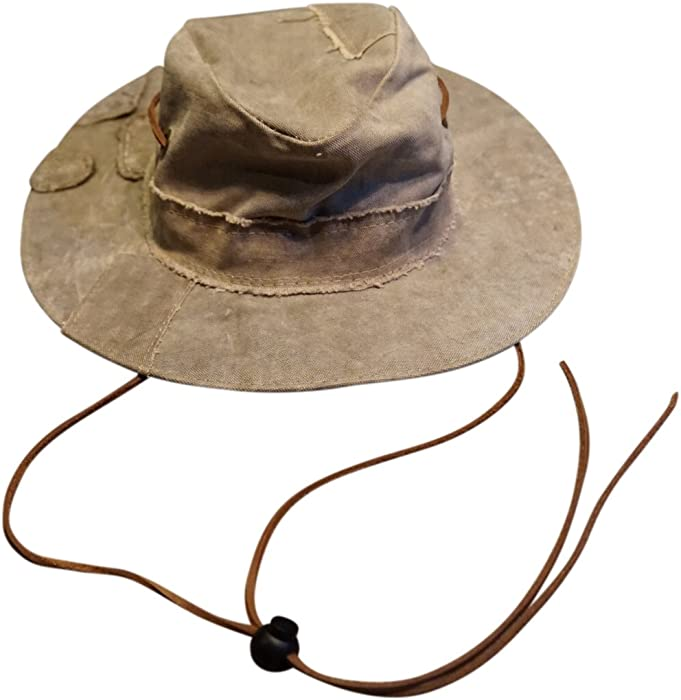 The Real Deal Brazil Original Tarp Hat and Solos Hat Chin Cord (Medium bc82efd4771