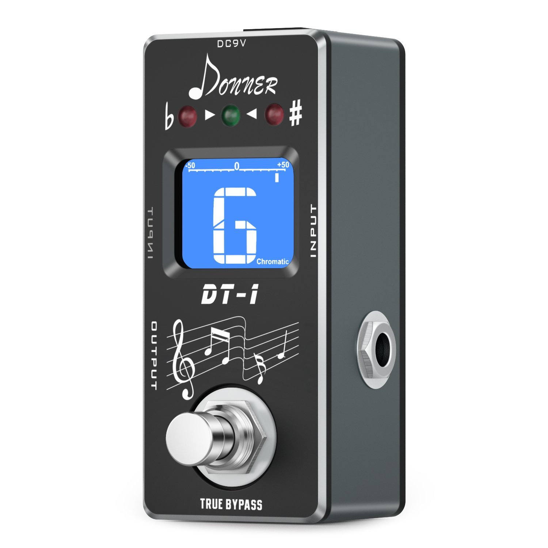 Donner DT-1 - Chromatic Guitar Tuner Pedal True Bypass: Amazon.es: Instrumentos musicales