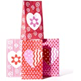 Valentine Paper Goody Bags by Century Novelty
