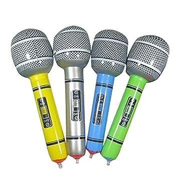 Naisicatar Un Paquete Inflable micrófono Universal Blow Up ...