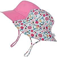 Baby Sun Hat Summer Toddler Bucket Hats for Baby Girls Boys UPF 50+ Sun Protective Beach Hat Adjustable Cap