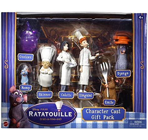 Amazon Com Ratatouille Character Cast Gift Pack Toys Games