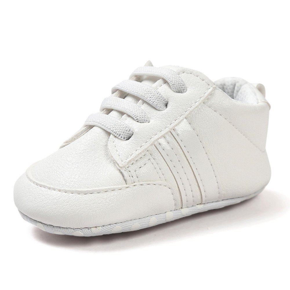 Lurryly Baby Shoes Soft Bottom Anti-Skid Leather Sports Shoe for Infant Toddler Boys 2019Clearance
