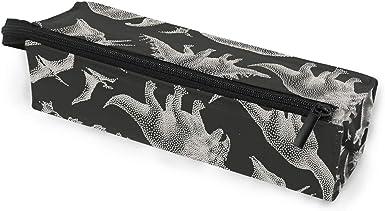 Ahomy - Estuche portátil con cremallera para gafas de sol, diseño de dinosaurios: Amazon.es: Ropa y accesorios