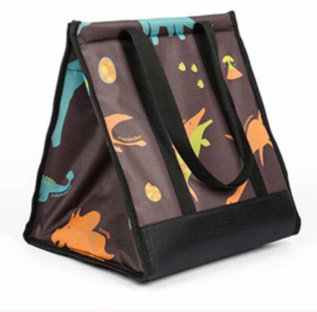 Outdoor-Picknick-Kühltasche Kühltasche Tragbar Zusammenlegbaren Beutel,C
