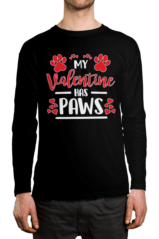 Apparel My Valentine Has Paws S Shirt