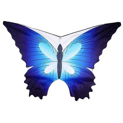 Amazon.com: Quandi - Cometa de mariposa para niños y adultos ...