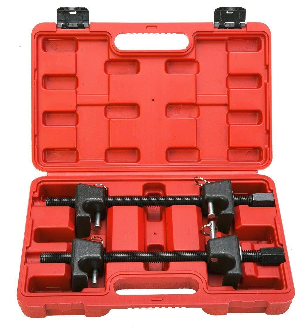 Freetec, kit di 2 pezzi, Set con compressore a molla professionale, 300 mm kit di 2pezzi freebirdtrading FT0037