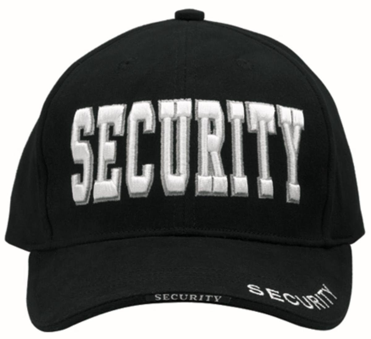 Deluxe, Low Profile Cap, Security - Black