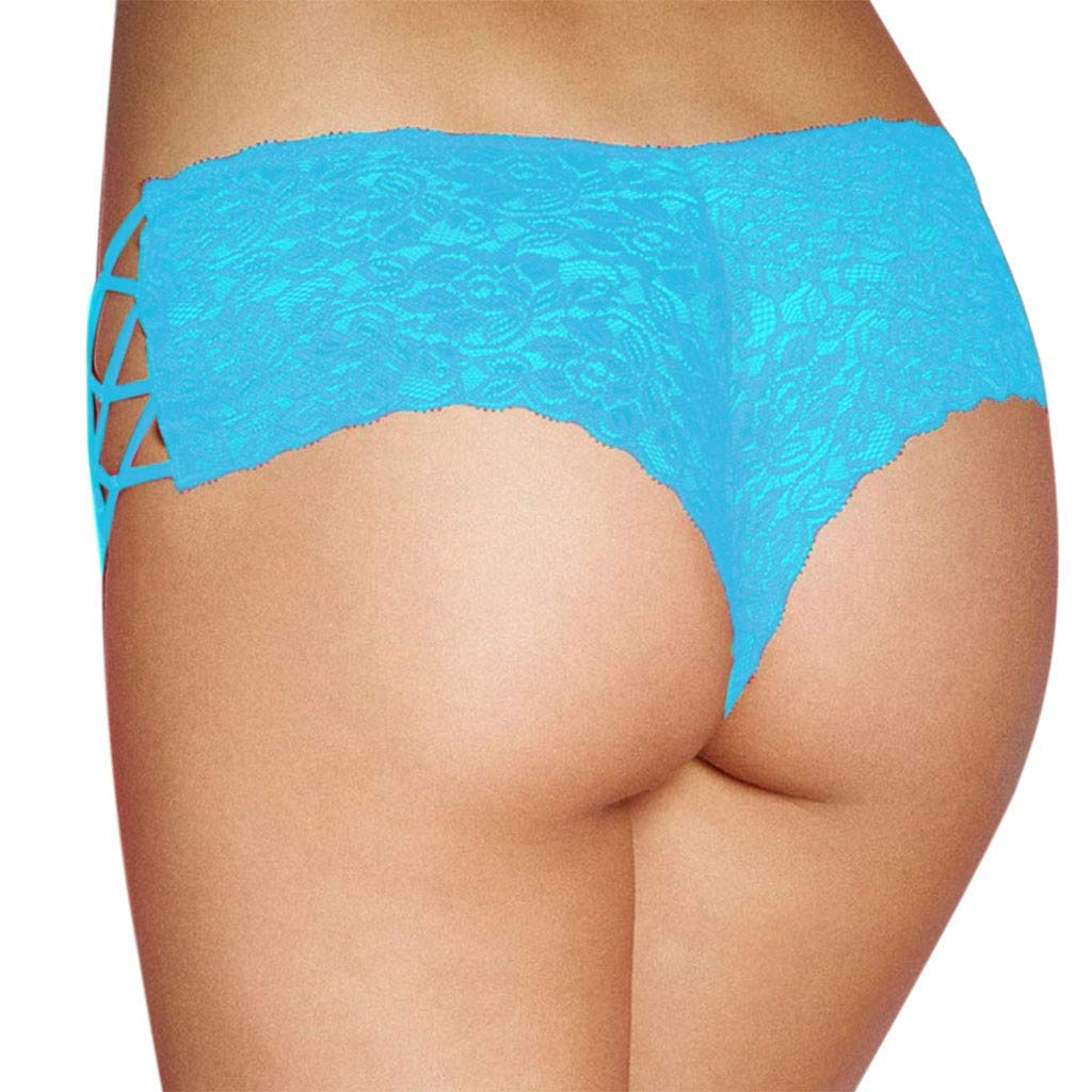 VANSOON Lingerie for Women Plus Size Lingerie Sexy Erotic Panties Lace Hollow Out Briefs Underwear Tangas Thongs by VANSOON Lingerie Sets (Image #2)