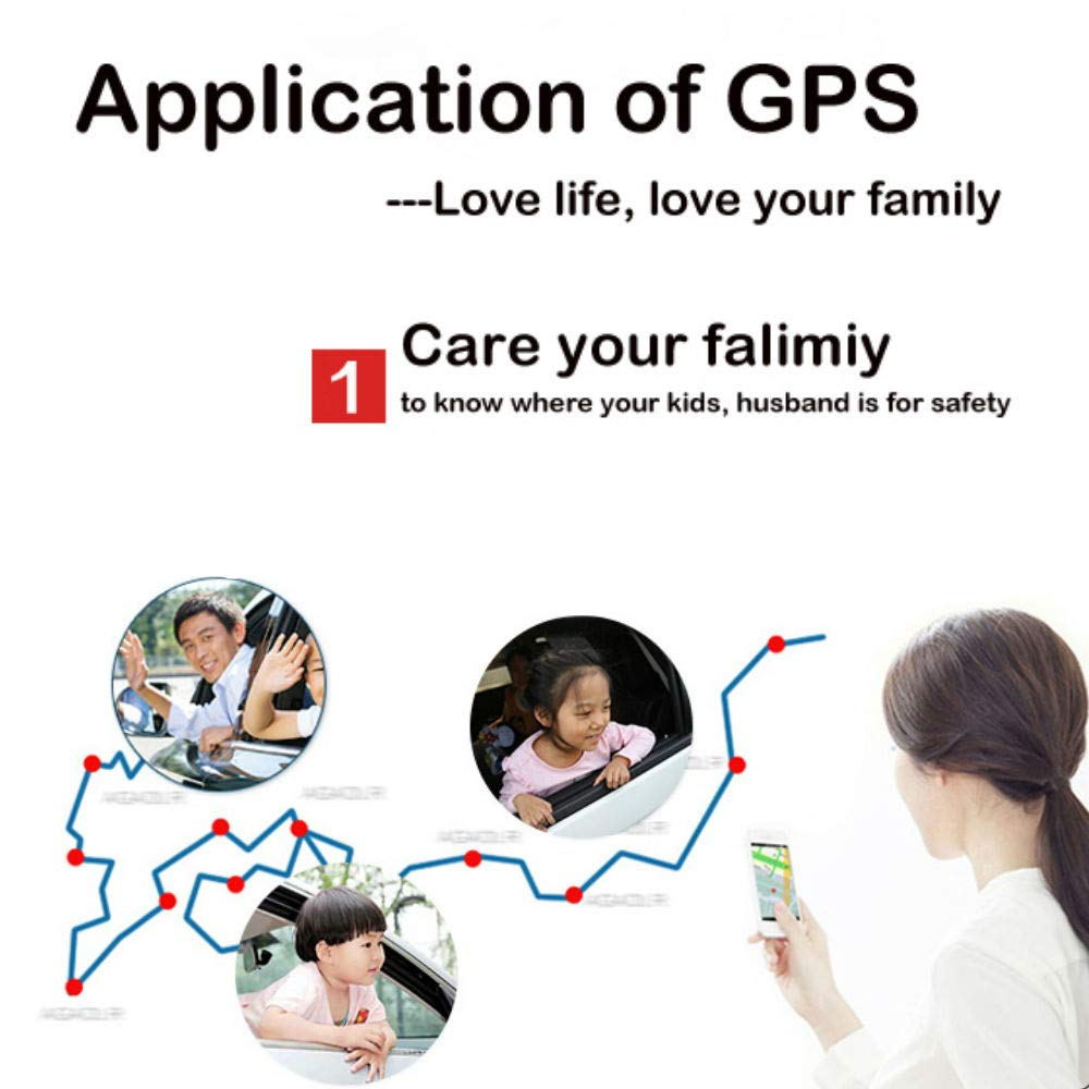 GPS Coches Localizador Mini GPS Tracker GPS Ni/ños Veh/ículo Localizador GPS para Coche Tiempo Real Localizador GPS Coche Rastreador GPS Mascotas Seguimiento de GPS//gsm//GPRS//SMS Antitheft TK901