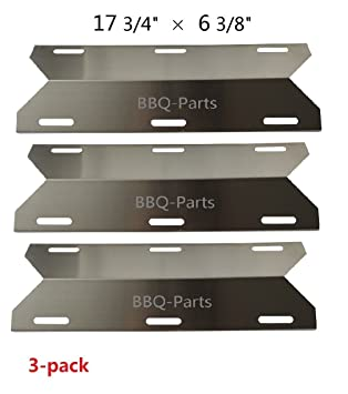 Hongso SPA231 (3-pack) Stainless Steel BBQ Gas Grill Heat Plate Heat  sc 1 st  Amazon.com : gas grill heat tent - memphite.com